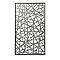 Panneau décor gris Blooma Idaho 100 x 171 cm