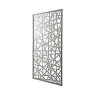 Panneau décor gris Idaho 100 x 171 cm