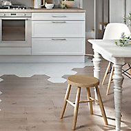 Parquet massif chêne blanchi Colours Harmony 15 x 150 cm (vendu à la botte)
