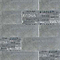 Carrelage mur décor gris 20 x 60 cm Trolia (vendu au carton)