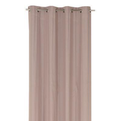 rideau star bachette chocolat 140 x 300 cm castorama. Black Bedroom Furniture Sets. Home Design Ideas