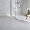Carrelage sol et mur blanc 45 x 45 cm Jiraya (vendu au carton)