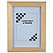 Cadre photo bois brut 1ER PRIX 50 x 70 cm