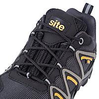 Chaussures de sécurité basses Mercury noires SITE taille 45