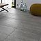 Carrelage sol et mur gris 50 x 50 cm Cassero (vendu au carton)