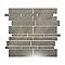 Mosaïque gris 30 x 30 cm Cuma Muretto