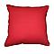 Coussin COLOURS Zen rouge 60 x 60 cm