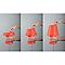 Lampe à poser Milly Rouge D.19,5cm 5W