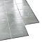 Carrelage sol et mur gris 50 x 50 cm Notteri 2 (vendu au carton)