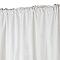 Rideau Legris blanc 140 x 250 cm