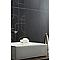 Carrelage mur anthracite effet pierre 30 x 60 cm City rain (vendu au carton)