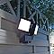 Projecteur extérieur BLOOMA Agia noir LED