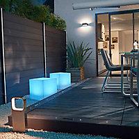 Profil LED solaire pour poteau Idaho