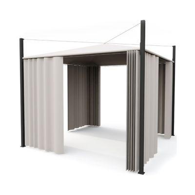 tonnelle blooma pampero 3 x 3 m blanche castorama. Black Bedroom Furniture Sets. Home Design Ideas