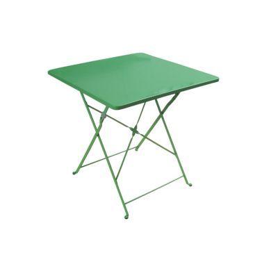 table de jardin saba radium pliante 70 x 70 cm castorama. Black Bedroom Furniture Sets. Home Design Ideas