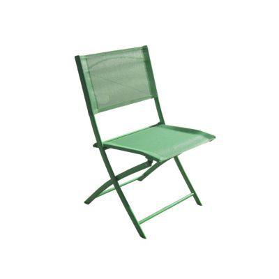 Chaise de jardin saba radium pliante castorama for Chaise pliante castorama
