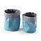 2 paniers plastique bleu COOKE & LEWIS Caparica
