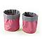 2 paniers plastique rose COOKE & LEWIS Caparica
