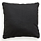 Coussin COLOURS Zen noir 60 x 60 cm