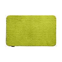 Tapis de bain antidérapant vert 80 x 50 cm Baya