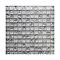 Mosaïque verre brisé blanc 30 x 30 cm Benito