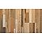 Lame PVC clipsable Kitano mix beige 122 x 18 cm (vendue au carton)