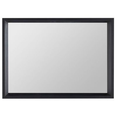 Miroir vernis noir Cooke & Lewis Harmon 90 cm
