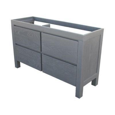 meuble sous vasque noir cooke lewis harmon 140 cm. Black Bedroom Furniture Sets. Home Design Ideas