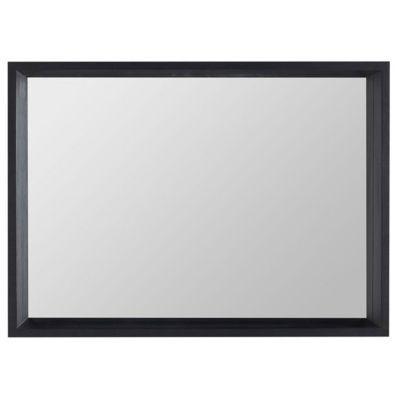 Miroir vernis noir Cooke & Lewis Harmon 140 cm