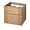 Meuble sous vasque bois COOKE & LEWIS Essential II 60 cm