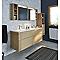 Armoire de salle de bains miroir éclairant Essential II 60 cm