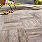 Carrelage terrasse effet bois 45 x 45 cm Madera (vendu au carton)