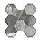 Carrelage terrasse effet pierre 45 x 45 cm Vesta (vendu au carton)
