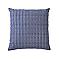 Coussin Missaka pointillés Bleu 40 x 40 cm