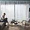 Ensemble barre à rideaux extensible COLOURS Barell chromé 200/360 cm
