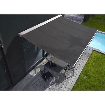 store de terrasse semi coffre motoris blooma cendre 4 x 3. Black Bedroom Furniture Sets. Home Design Ideas