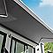 Store de terrasse semi-coffre motorisé Blooma Cappuccino 5 x 3m