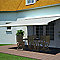 Store de terrasse coffre intégral motorisé BLOOMA avec LED Pure jaune 4 x 3m