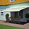 Store de terrasse coffre intégral motorisé Blooma avec LED latte 4 x 3m