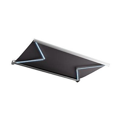 Store De Terrasse Coffre Integral Motorise Blooma Avec Led Cendre 5 X 3m Castorama