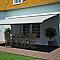 Store de terrasse coffre intégral motorisé BLOOMA avec LED Pure jaune 5 x 3m