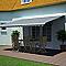Store de terrasse semi-coffre motorisé Blooma Orlando rayé 4 x 3m