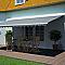 Store de terrasse semi-coffre motorisé BLOOMA Orlando rayé 5 x 3m