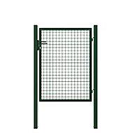 Portillon grillage à sceller Akela vert h.1,50 m