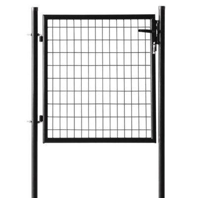portillon grillage sceller noir h 1 m castorama. Black Bedroom Furniture Sets. Home Design Ideas