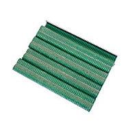 Agrafes vertes, largeur 16 mm - boîte de 250
