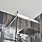 Carrelage mur gris foncé effet pierre 20 x 50 cm Colours Leccio (vendu au carton)