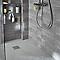 Carrelage mur gris clair effet pierre 20 x 50 cm Colours Leccio (vendu au carton)