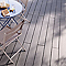 Lame de terrasse composite anthracite BLOOMA Nods L.240 x l.14,5 cm