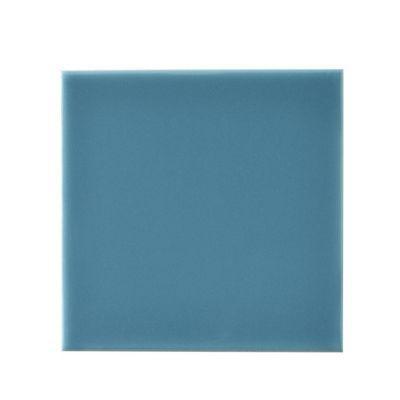 Carrelage Mur Bleu Lagon X Cm Glossy Castorama - Plinthe carrelage et tapis de bain bleu lagon